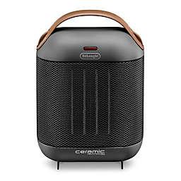 De'Longhi Capsule Compact Ceramic Heater in Dark Grey
