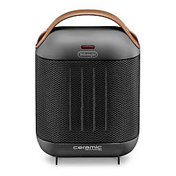De'Longhi Capsule Compact Ceramic Heater in Dark Grey