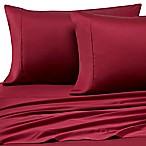 Pure Beech® Modal Sateen Queen Sheet Set in Burgundy