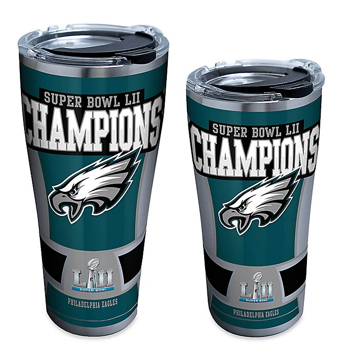 Alternate image 1 for Tervis® NFL Philadelphia Eagles Super Bowl Champs Stainless Steel Tumbler with Lid