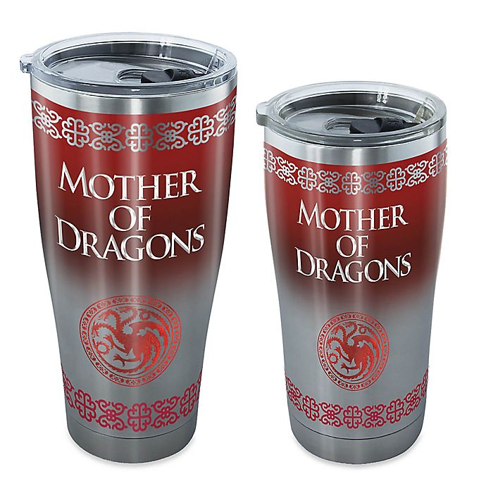 Alternate image 1 for Tervis® Game of Thrones Mother of Dragons Stainless Steel Tumbler with Lid
