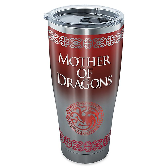 Alternate image 1 for Tervis® Game of Thrones Mother of Dragons 30 oz. Stainless Steel Tumbler with Lid