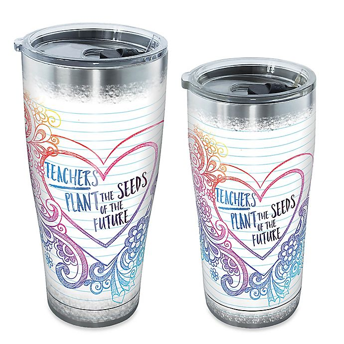 Alternate image 1 for Tervis® Teachers Plant The Seeds Stainless Steel Tumbler with Lid