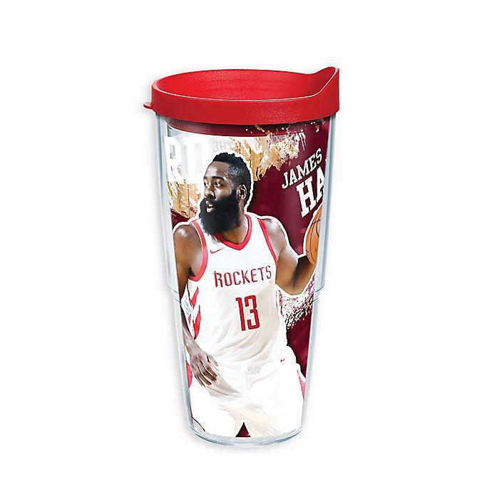 best authentic 14826 92ef7 Tervis® NBA Houston Rockets James Harden 24 oz. Wrap Tumbler ...