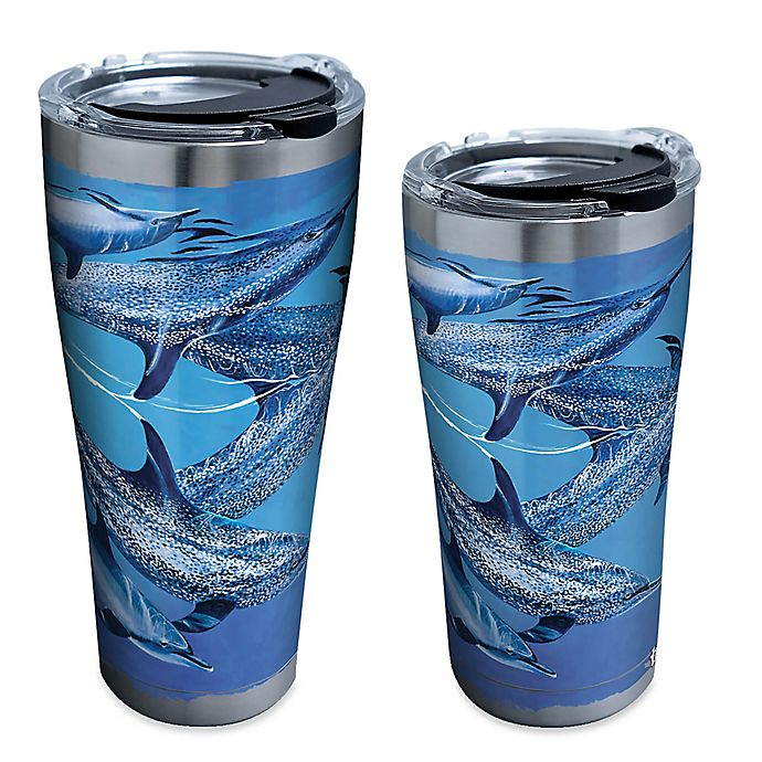 Alternate image 1 for Tervis® Guy Harvey® Dolphins Stainless Steel Tumbler with Lid