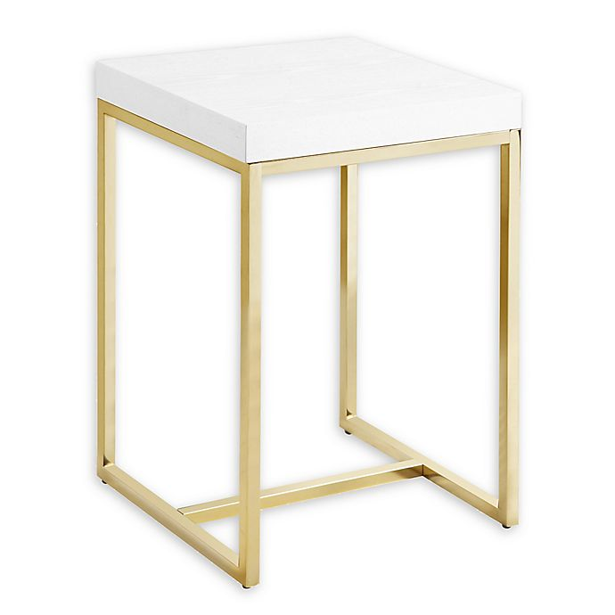 Alternate image 1 for Chic Home Ronel Side Table in White