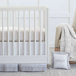 Just Born® Dream Crib Bedding Collection in Grey/White