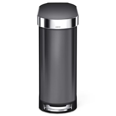 Simplehuman 174 Slim 45 Liter Step On Trash Can With Liner