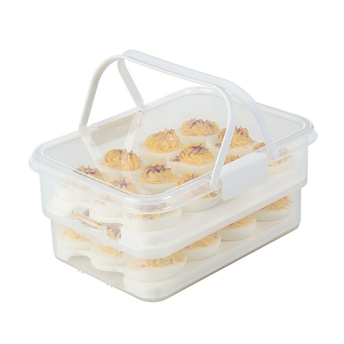 Alternate image 1 for Progressive® SnapLock™ Collapsible Egg Carrier