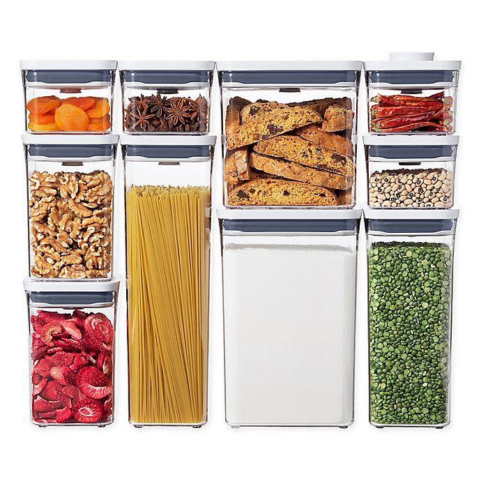Alternate image 1 for OXO Good Grips® POP 10-Piece Food Storage Container Set