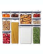 Contenedores para alimentos de plástico OXO Good Grips® POP, Set de 10 pzas.
