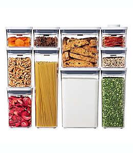 Set de contenedores para alimentos, POP Good Grips® OXO 10 piezas