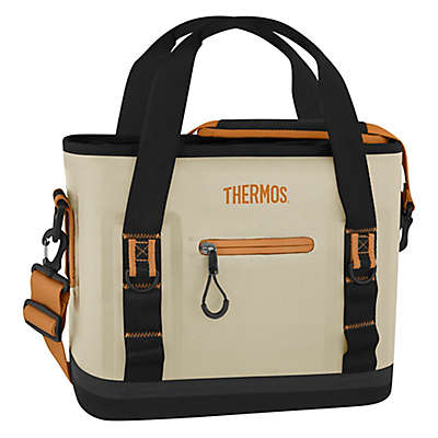 Thermos® Trailman 12-Can Insulated Tote in Cream/Tan