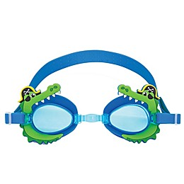 Stephen Joseph® Alligator/Pirate Swim Goggles with Carry Case