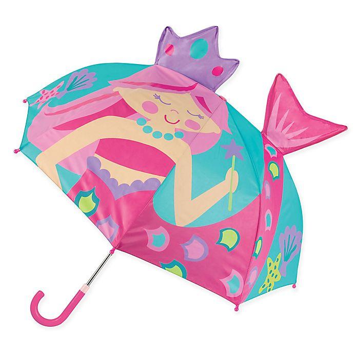 Alternate image 1 for Stephen Joseph® Pop Up 3-D Mermaid Umbrella