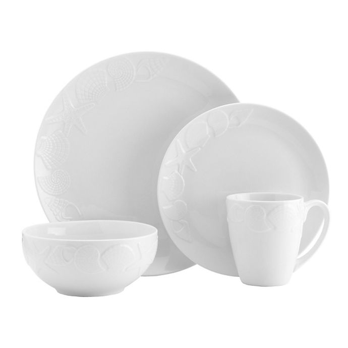 Alternate image 1 for Pfaltzgraff® Santa Monica 16-Piece Dinnerware Set