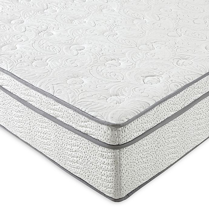 Alternate image 1 for E-Rest UltraFusion Silver 13-Inch Hybrid Innerspring Twin Extra Long Mattress