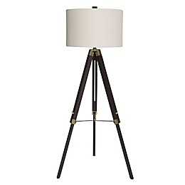 Fangio Lighting Classic Structed Tripod 1-Light Floor Lamp