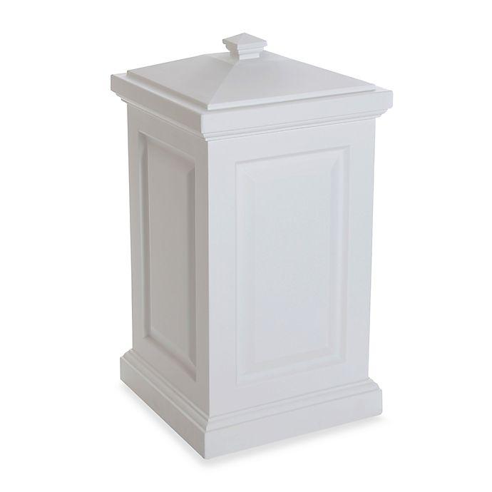 Alternate image 1 for Mayne Berkshire 45-Gallon Storage Bin in White