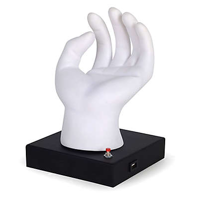 Equip Your Space Novelty Hand Desk Lamp in White