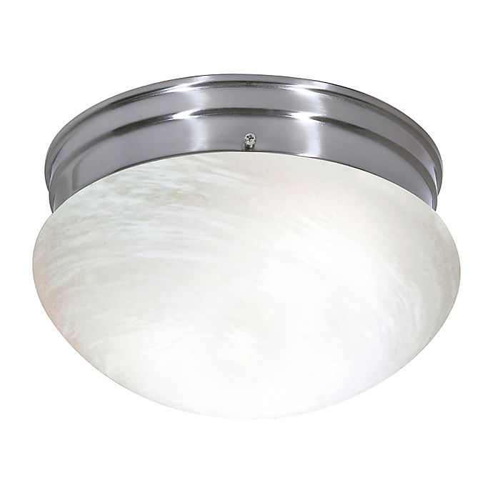 Alternate image 1 for Filament Design 3-Light Flush Mount Light Fixture in Brushed Nickel