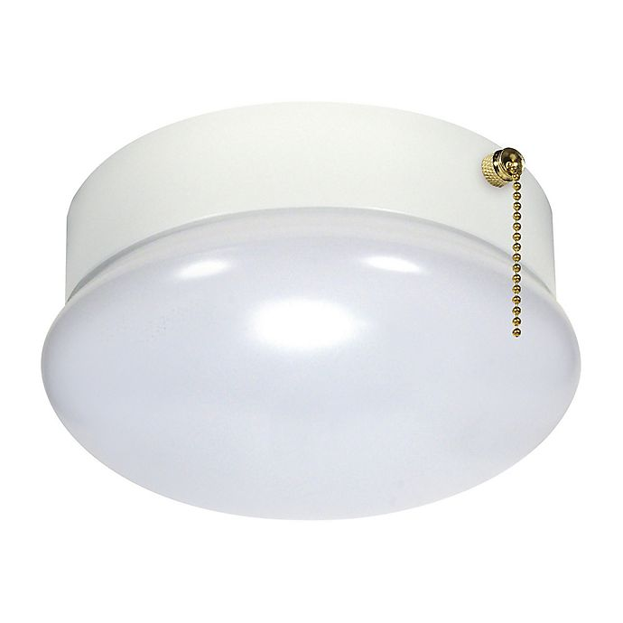Filament Design 1-Light LED Flush-Mount Dome Ceiling Light ...