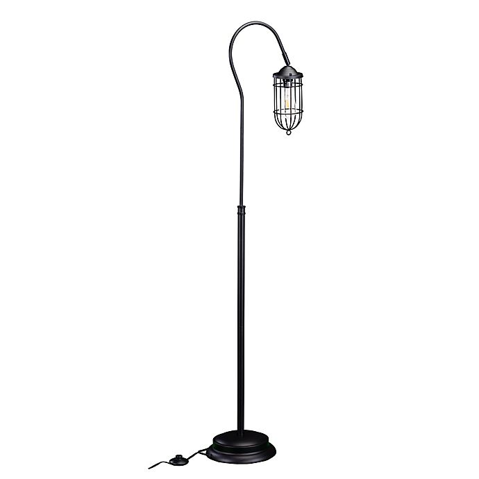 Alternate image 1 for Southern Enterprises Terrance 1-Light Floor Lamp