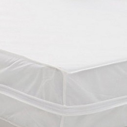Everfresh Water Resistant Bed Protector Set in White