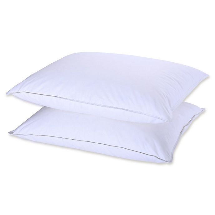 Alternate image 1 for Puredown Down and Feather Standard/Queen Pillows (Set of 2)