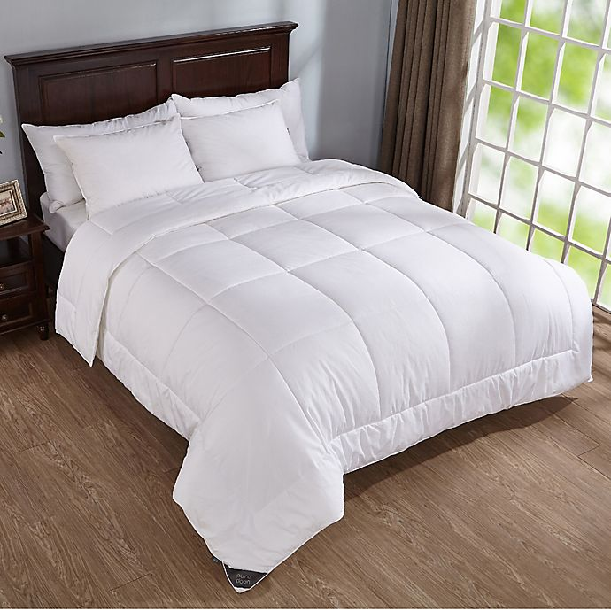 Alternate image 1 for Puredown 400-Thread-Count Down Alternative Year Round Full/Queen Comforter in White
