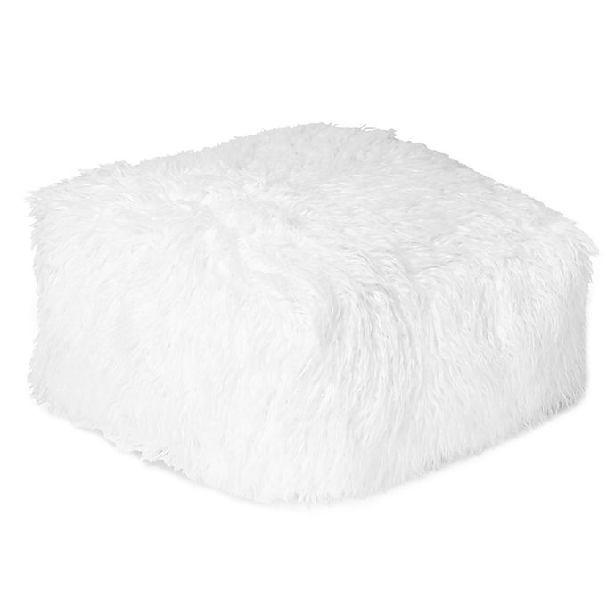 Alternate image 1 for Mongolian Faux Fur Floor Cushion