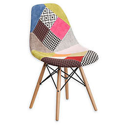 Flash Furniture Milan Chairs with Wood Base
