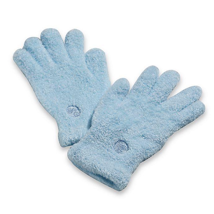 Alternate image 1 for Aloe Moisture Gloves™ in Blue