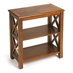 Butler Vance Cottage Bookcase in Medium Brown