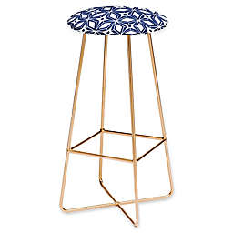 Deny Designs Faux Leather Upholstered Barstool
