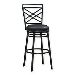 American Heritage Billiards Alyssa Stool in Charcoal