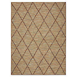 Mohawk Home Praiano Area Rug in Neutral Beige