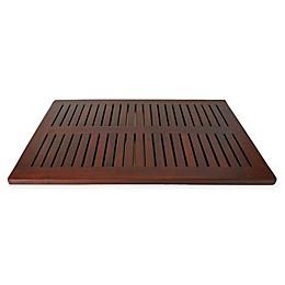 DecoTeak® Teak Bath Mat in Brown