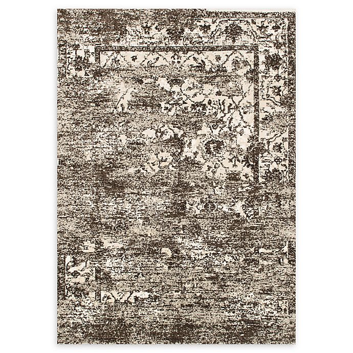 Alternate image 1 for Loloi Rugs Viera 5'3 x 7'7 Power-Loomed Area Rug in Mocha/Ivory