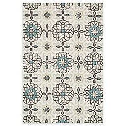 Loloi Rugs Francesca Handcrafted Rug in Ivory/Metal