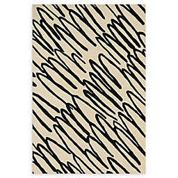 Loloi Rugs Nova Hand-Tufted Area Rug in Ivory/Black