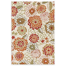 Loloi Rugs Francesca Handcrafted Rug in Ivory/Spice