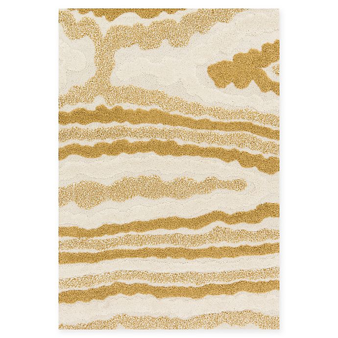 Alternate image 1 for Loloi Rugs Enchant 3'10 x 5'7 Loomed Area Rug in Ivory/Gold