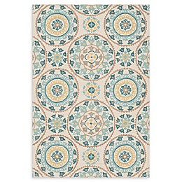 Loloi Rugs Francesca Handcrafted Rug in Ivory/Beige