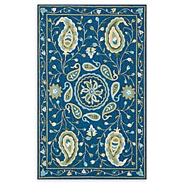 Loloi Rugs Francesca Handcrafted Rug in Blue/Green
