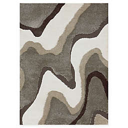 Loloi Rugs Enchant Grooved Power-Loomed Multicolor Rug