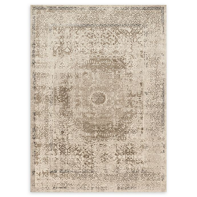 Alternate image 1 for Loloi Rugs Century Medallion 3'7 x 5'7 Area Rug in Taupe/Sand
