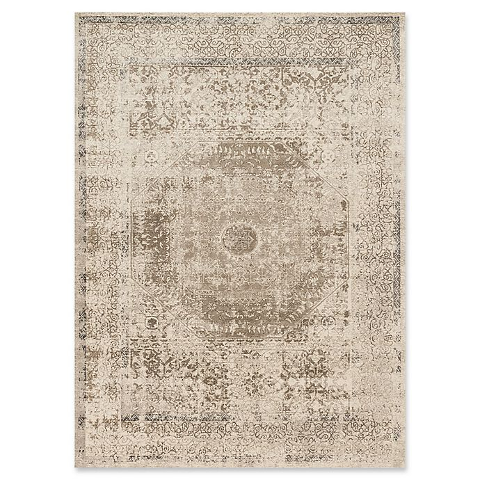 Alternate image 1 for Loloi Rugs Century Medallion 2'6 x 10'6 Runner in Taupe/Sand