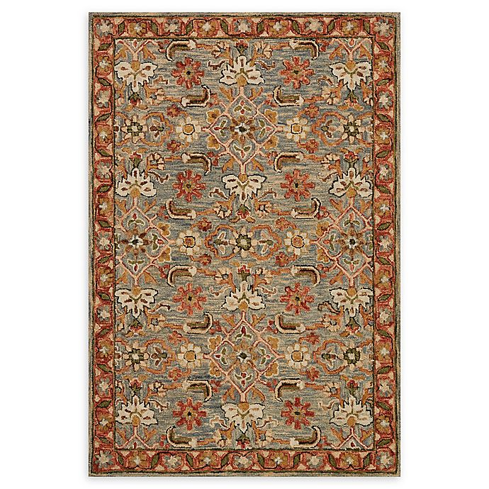 Alternate image 1 for Loloi Rugs Victoria 2'3 x 3'9 Handcrafted Accent Rug in Slate/Terracotta