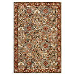 Loloi Rugs Victoria Handcrafted Rug in Slate/Terracotta